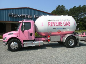 Revere Gas Pink Truck