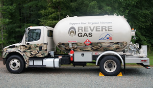 Virginia Wounded Warrior Truck - Revere Gas