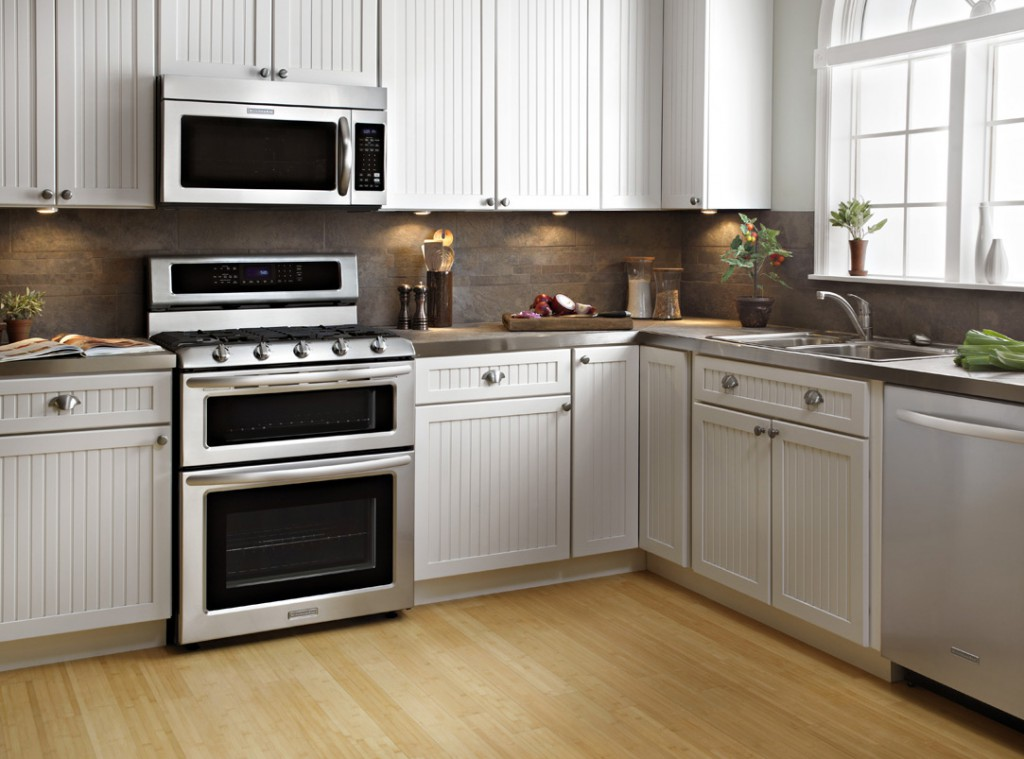 A Dream Kitchen Deserves Stove Kitchenaid Deep Recessed 6 Burner Self Cleaning Convection Single Oven Dual