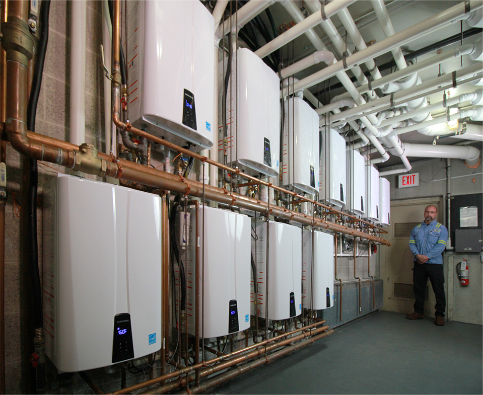 Navien Tankless Water Heaters From Revere Gas