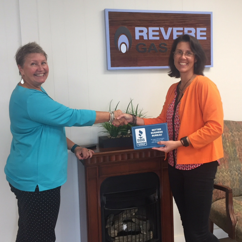 revere gas employee with better business bureau employee