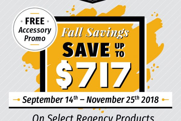 regency fireplace promotion